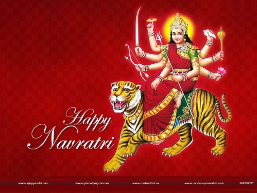 Happy Navratri : to all friends, Clients and B2B Partners and Associates