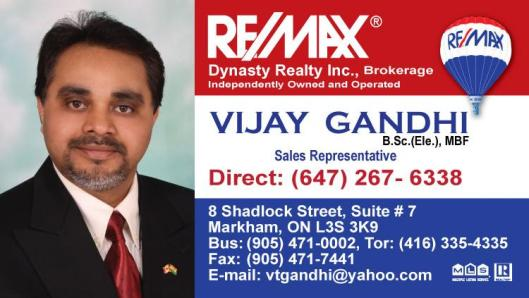 Vijay Business card
